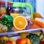 interior full fridge